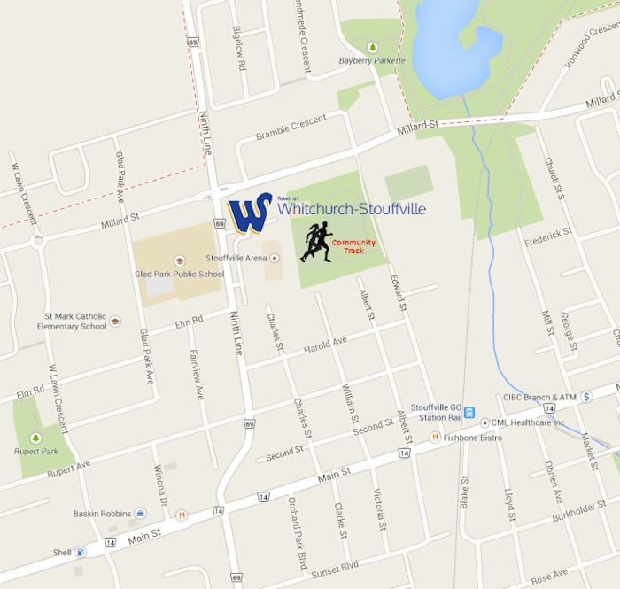 Seasons Workout Locations York Region Runners Club